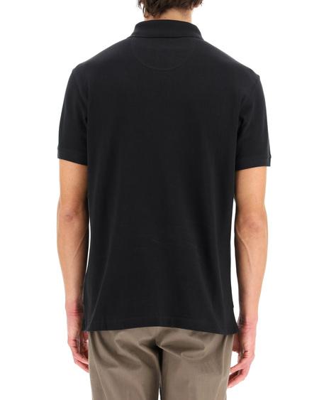 Barbour Logo Polo Shirt - Black