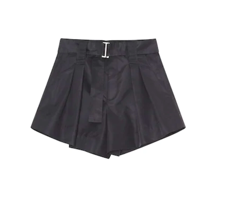 Ganni Outerwear Nylon Short - black