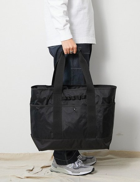 Snow Peak X-Pac Nylon Totebag - Black