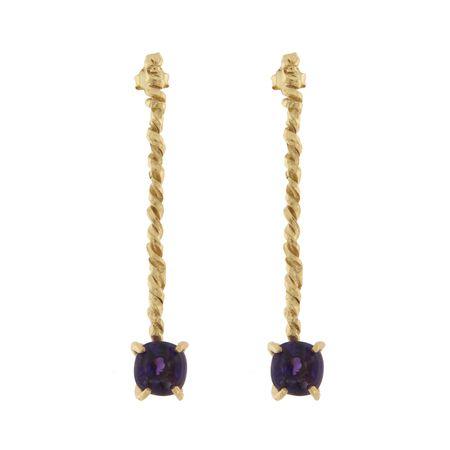 Cleopatra's Bling Thonis Murjan earrings - Gold