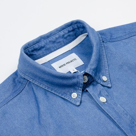 Norse Projects Anton Denim Shirt - Bleached