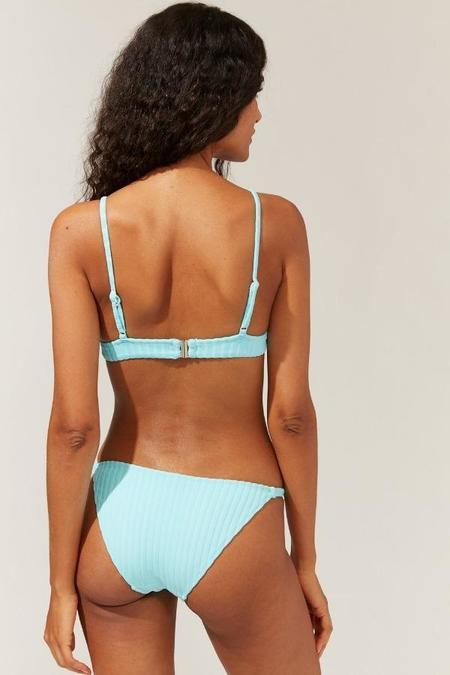 Solid and Striped Morgan Bikini Bottom - Fresh Air Rib