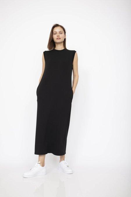 Corinne Collection Charlotte Midi Dress - Black