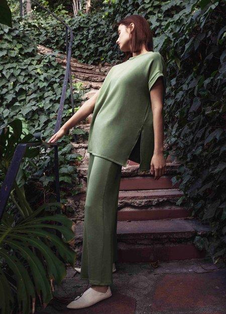 Corinne Collection Ava Tunic - Basil