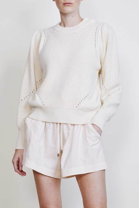 Apiece Apart Sun Sweater - Cream