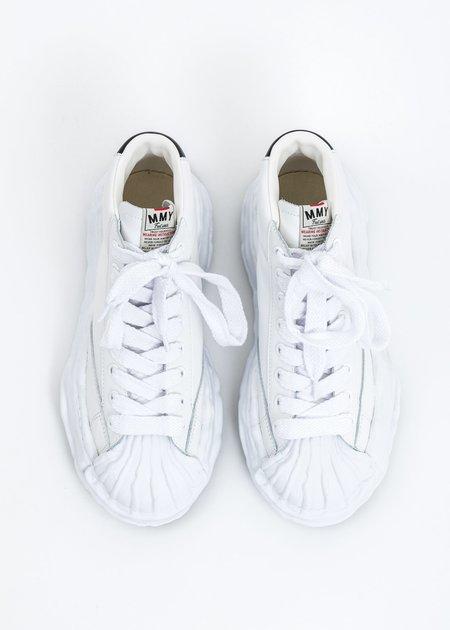 Mihara Yasuhiro Original STC Sole Leather Hitop Sneaker - White