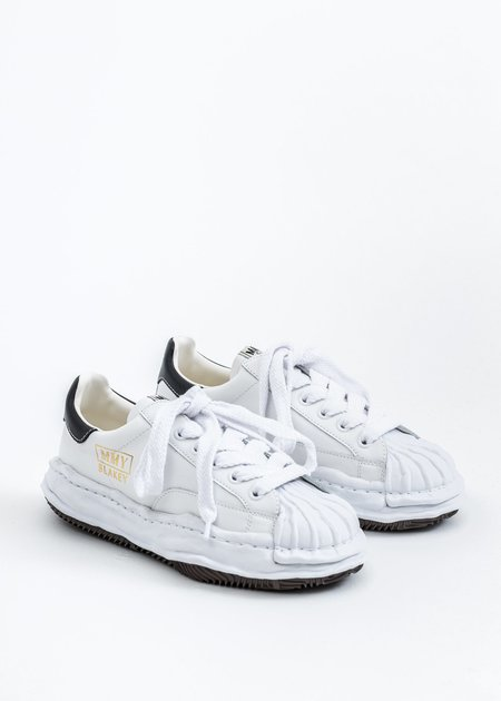 Mihara Yasuhiro Original STC Sole Leather Lowcut Sneaker -  White