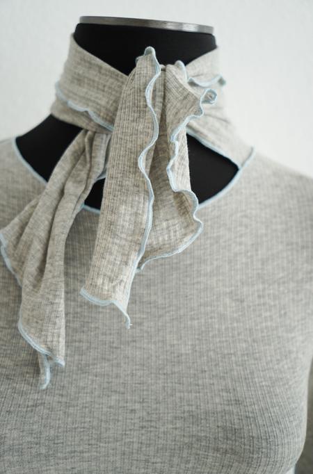 Baserange Pava Longsleeve - grey melange