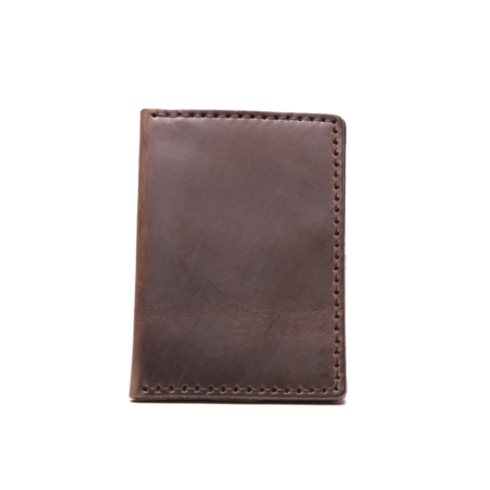 Wood & Faulk Natural Traveler Wallet