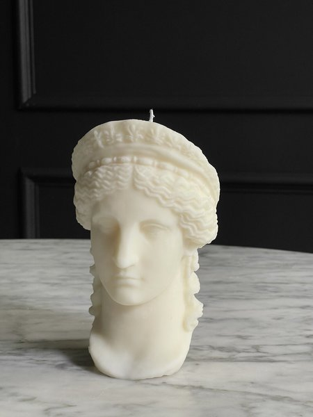 The Busted Gentleman Hera Sculpture Candle