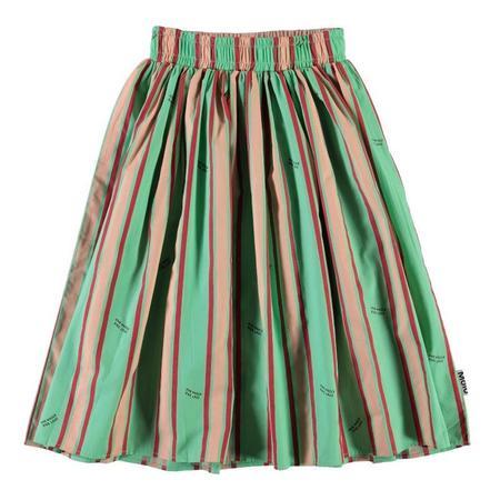 Kids Molo Bree Skirt - One World Stripe