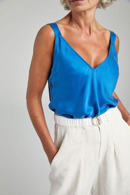 Silk Laundry DECO CAMI - COBALT BLUE