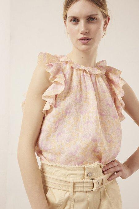 Vanessa Bruno Neel Top - Rose Floral
