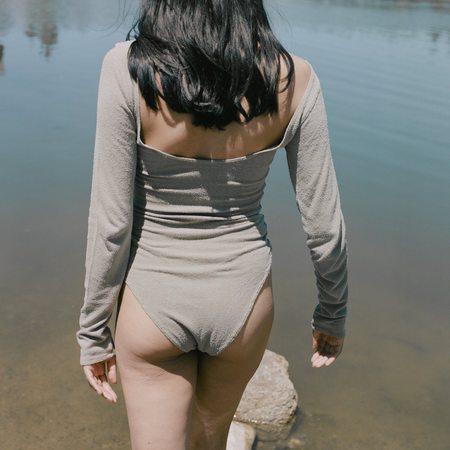Ozma Eve Bodysuit - Sage