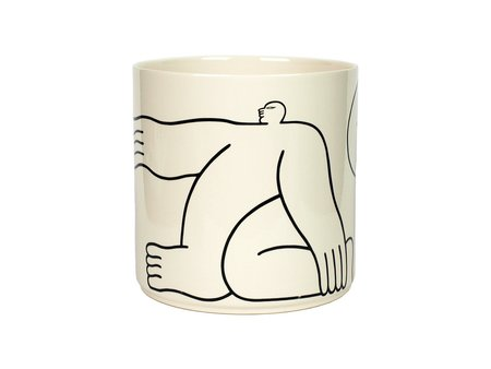 Louise Madzia Nude Large Mug
