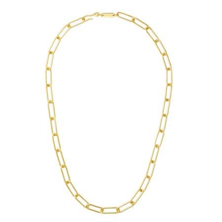 "Machete Paperclip 22"" Chain Necklace"