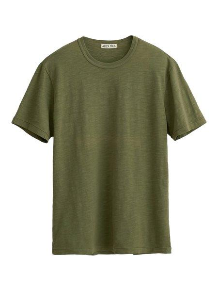 Alex Mill Standard Slub Cotton T-Shirt - Army Olive