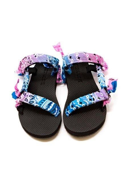 Arizona Love Trekky Bandana sandals - Pink/Blue