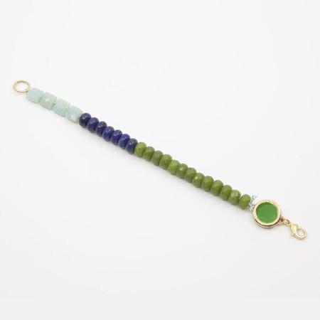 A. Carnevale Beaded Bracelet - Blue/Green