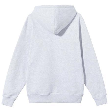 Basic Stussy App. Hood sweater - Ash Heather