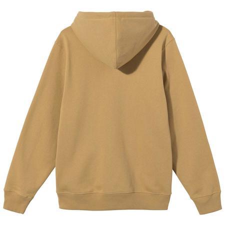 Stussy Basic Stussy App. Hood sweater - Khaki