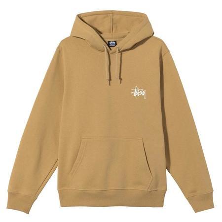 Stussy Basic Hood sweater - Khaki