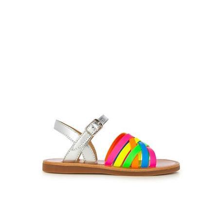 kids pom d'api plagette lux shoes - multi