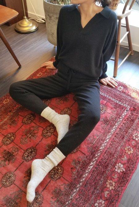 LE BON SHOPPE NANETTE SWEATS - EBONY