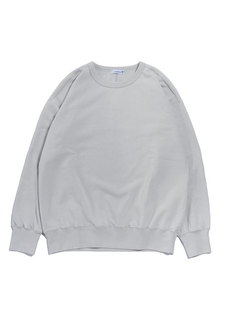 nanamica Crew Neck Sweat Shirt - Light Gray