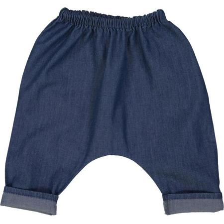 kids louis louise baby trousers - chambray