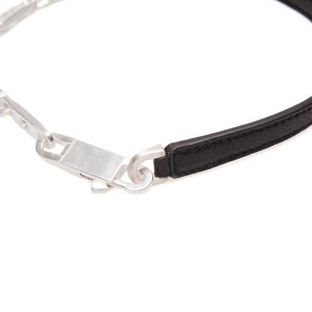 RICK OWENS Chain choker - Silver