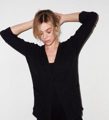 LnA Rossa Cardigan - Black