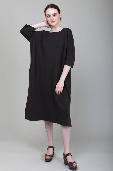 Lauren Manoogian Interlock Wide T Dress - Black