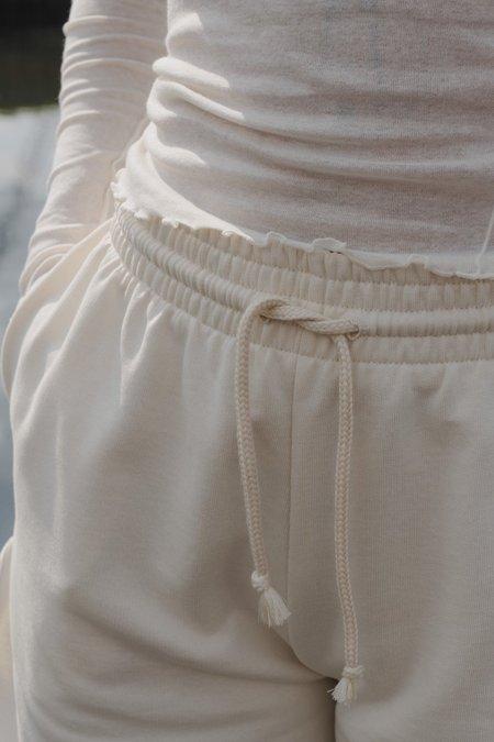 Baserange Sweat Short - Off White