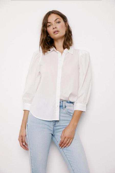 Pistola Ariella Puff Sleeve Shirt - Le Blanc