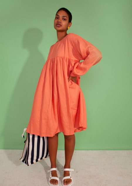 L.F.Markey Kel Dress - Coral