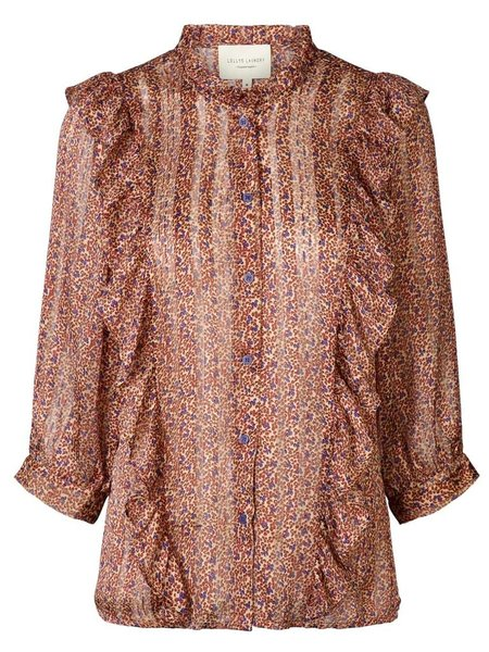 Lolly's Laundry Hanni Blouse - Red/Purple