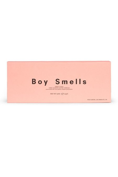 Boy Smells CEDAR STACK, HINOKI FANTOME, ST. AL TRIO SET CANDLES
