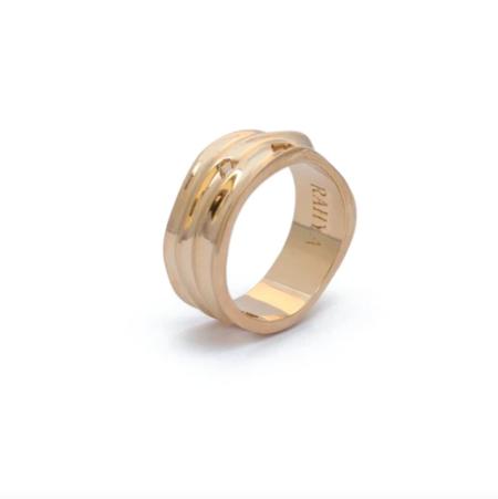 Rahya Jewelry Design Fragment Ring - Gold