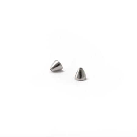 Rahya Jewelry Design Sage Stud Earrings - Silver