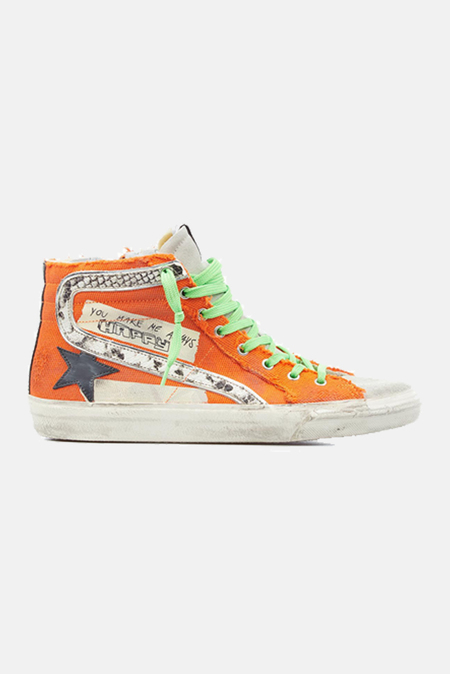 Golden Goose Slide Shoes - Orange