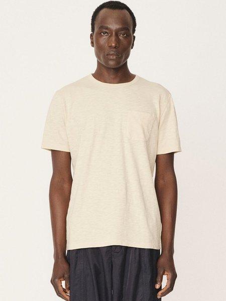 YMC Wild Ones Pocket T-Shirt - Ecru