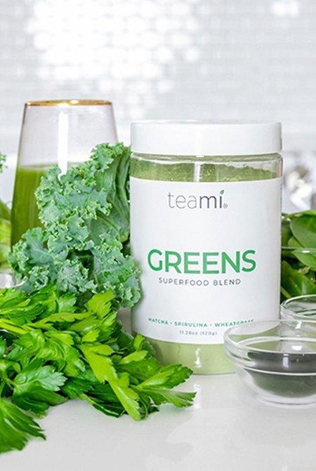 Teami Blends Greens Superfood Powder