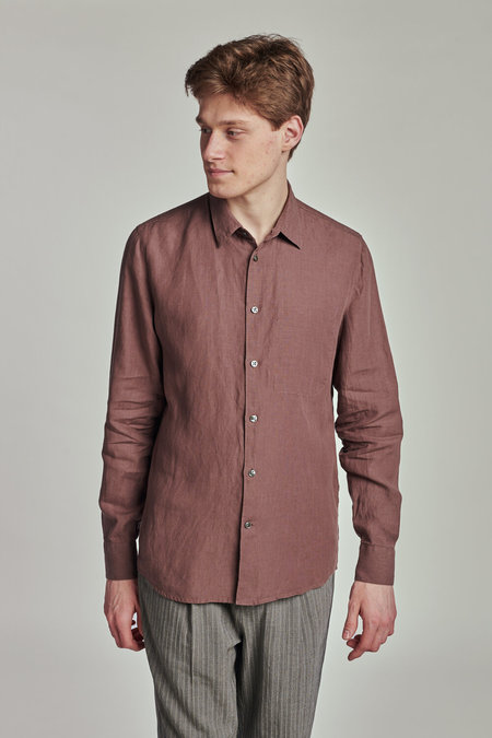 Delikatessen Feel Good Thomas Mason's Finest Soft Italian Hemp Shirt
