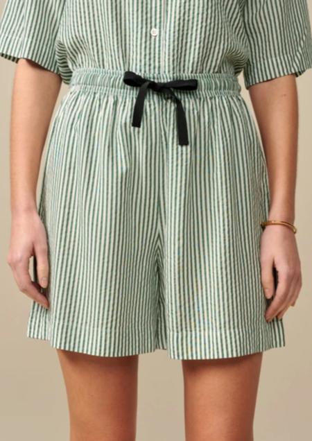 Bellerose Powell Shorts - Green