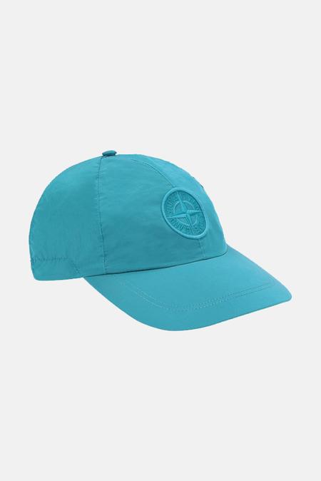Stone Island Nylon Metal Cap - Turquoise