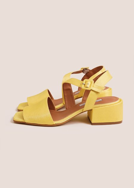 About Arianne Selva Sandals - Sunflower yellow
