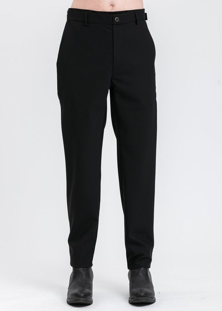 Y/project Lazy Trouser With Denim - Black