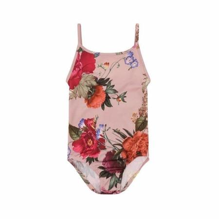 kids christina rohde floral swimsuit - pale rose