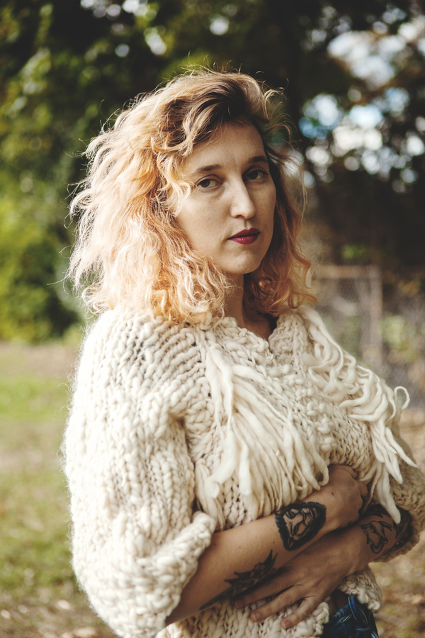 good night, day perth merino wool hand knit cardigan
